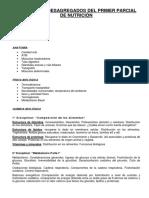 Contenidos Desagregados Del Primer Parcial de Nutricic3b3n (2)