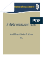 2017 002 ADS - Arhitektura
