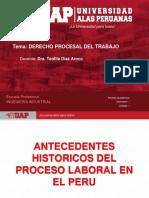 Antecednetes Históricos Del Proceso Laboral en El Perú