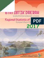 Statistik Daerah Kabupaten Konawe Utara 2017