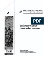 TEMA 7 LAS LENGUAS DE ESPA•A (CEDE).pdf