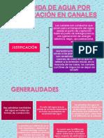 3 SEMANA - INFILTRACION DE CANALES.pptx