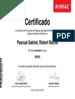 Constancia IPERC