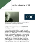 Darwin, Marx y Las Dedicatorias Del Capital_Jaume Josa