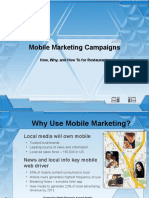 Mobile Marketing Campaigns for Restaurants