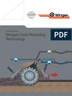 Wirtgen Cold Recycling Technology