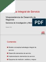 Estrategia Integral de Servicio Al Cliente