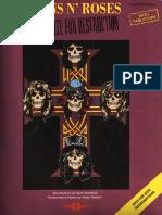 Guns N' Roses - Appetite For Destruction guitar tabs.pdf