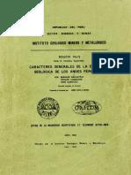 D-012-Boletin-Caracteres Generales Evolucion Geologica Andes Peruanos