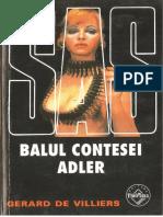 021. Gerard de Villiers - [SAS] - Balul Contesei Adler [v.1.0]
