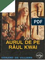 Gerard de Villiers - [SAS] - Aurul de pe rîul Kwai v.1.0 .doc