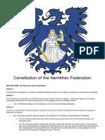 Nemkhav Federation Constitution First Amendment Final 02 Sept 16