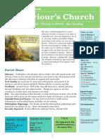 st saviours newsletter - 8 july 2018