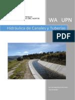 Curso Hidraulica de Canales y Tuberias - WA - UPN