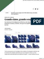 Grandes Datos, Grandes Sesgos _ Ciencia _ EL PAÍS