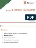 Mbf Lecciones 3 y 4 Sistema Financiero Internacional