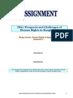Human Rights in Bangladesh Final