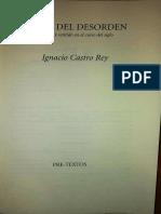 Ignacio Castro Rey. Ética Del Desorden Cap. 4