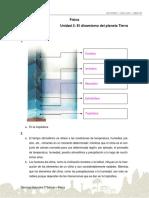 Solucionario Ficha de Refuerzo Dinamica Terrestre