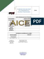 Planilla de Inscripcion Aicep