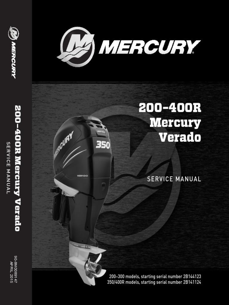 300 Verado Wiring Harness Install Trusted Diagrams Diagram 2014 L6 200 Gen5 350 400r Service Manual Gear Piston Used Mercury