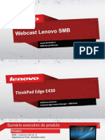 ThinkPad Edge E430 - Webcast PDF
