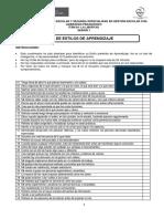 Anexo 05 Test Estilos de Aprendizaje