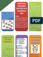 Derechos Del Niño en El Peru