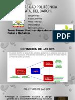 Expocicion BPA Para Frutas y Hortalizas