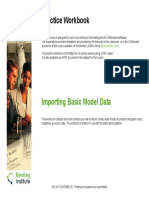 Importing Basic Model Data