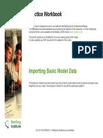 Importing Basic Model Data