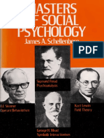 Masters of Social Psychology _ - Schellenberg, James a., 1932