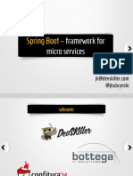 Spring Boot Services