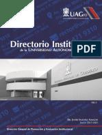 Directorio Institucional UAGro 2017