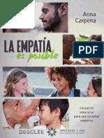 La Empatia Es Posible-libro Incompelto-9788433028228