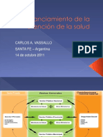 Financiamiento de La Atencion de La Salud