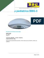 Manual - Bascula Pediatrica - BBG-3