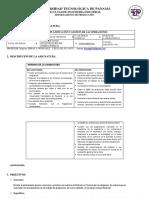 Asignatura Planificación y Gestión de Las Operaciones