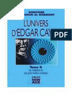 Koechlin De Bizemont Dorothée-Marguerite - L'Univers d'Edgar Cayce Tome 2.pdf
