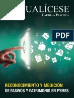 .Reconocimiento y Medicion Pasivos Pymes