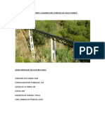 Puente Colgante Para Tuberias
