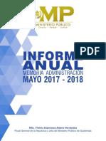 (MP) Informe Anual 2017-2018