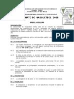 Bases de Basquet 2018