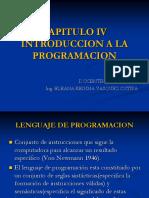 Capitulo IV Programación - UNSA