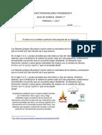 GUIA QUIMICA 7  P 1- 2017.pdf