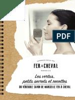 Savonnerie Feracheval Guide Recettes Astuces savon Marseille