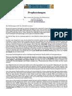Erdmann, Elias - Prophezeiungen - Eine Esoterische Deutung Des Phänomens (15 S., Text)