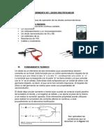 EXPERIMENTO Nº1diodos Dispositivos Electronicos