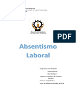 Absentismo Laboral Final
