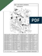 Manual de Partes Generador Kipor KDA75SS03